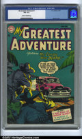 Golden Age (1938-1955):Horror, My Greatest Adventure #1 (DC, 1955). CGC FN+ 6.5 Cream to off-whitepages. Overstreet 2002 FN 6.0 value = $390....