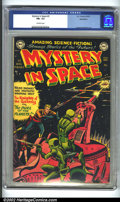 Golden Age (1938-1955):Science Fiction, Mystery in Space #3 Bethlehem pedigree (DC, 1951) CGC FN+ 6.5Off-white pages. Carmine Infantino artwork. Overstreet 2002 FN...