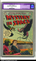Golden Age (1938-1955):Science Fiction, Mystery in Space #7 (DC, 1952) CGC Apparent VF 8.0 Moderate (P)Off-white pages. Artwork by Infantino, Anderson and Toth. Ov...