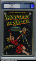 Golden Age (1938-1955):Superhero, Mystery in Space #1 (DC,1951). CGC FN 6.0 Off-white to white pages.Frank Frazetta art. Overstreet 2002 FN 6.0 value = $654....