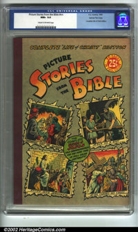 """Picture Stories from the Bible - Complete """"Life of Christ"""" Edition #nn Gaines File pedigree 4/12 (EC, 1944). C..."""