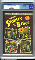 Golden Age (1938-1955):Religious, Picture Stories from the Bible - Complete New Testament #nn GainesFile pedigree 4/12 ( EC, 1946). CGC NM+ 9.6 Off-white pag...