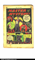 "Golden Age (1938-1955):Non-Fiction, Real Fact Comics #1 (2 copies) (DC, 1946). First copy is GD- with a4"" piece out of the centerfold and off-white pages. Seco..."