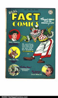 Golden Age (1938-1955):Non-Fiction, Real Fact Comics #2 (DC, 1946). VG+ with off-white pages. Simon andKirby artwork. Overstreet 2002 GD 2.0 value = $40; FN 6....