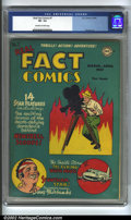 Golden Age (1938-1955):Non-Fiction, Real Fact Comics #7 (DC, 1947) CGC VF- 7.5 Off-white to whitepages. Overstreet 2002 VF 8.0 value = $105....