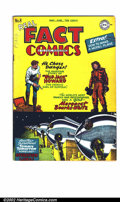 Golden Age (1938-1955):Adventure, Real Fact Comics #8 (DC, 1947). FN+ off-white pages. Second appearance of Tommy Tomorrow by Virgil Finlay. Two long creases ...