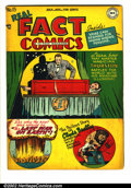 Golden Age (1938-1955):Non-Fiction, Real Fact Comics #15 (DC, 1948). FN- off-white pages. Overstreet2002 FN 6.0 value = $60...