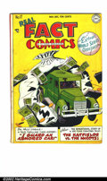 Golden Age (1938-1955):Non-Fiction, Real Fact Comics #17 (DC, 1948). FN off-white pages. Overstreet2002 FN 6.0 value = $45...