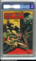 Golden Age (1938-1955):Miscellaneous, Red Seal Comics #17 Big Apple pedigree (Chesler, 1946) CGC FN/VF 7.0 White pages. Overstreet 2002 FN 6.0 value = $142; VF 8...