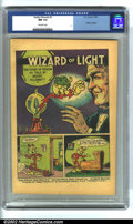 """Golden Age (1938-1955):Miscellaneous, Reddy Kilowatt #2 (EC, 1956). CGC NM 9.4 Off-white pages. """"Wizard of Light."""" Overstreet 2002 NM 9.4 value = $65...."""