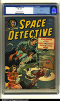 Golden Age (1938-1955):Science Fiction, Space Detective #1 (Avon, 1951) CGC FN+ 6.5 Cream to off-whitepages. Classic Wally Wood cover and interior art. This issue ...