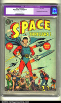 Golden Age (1938-1955):Science Fiction, Space Thrillers nn (Avon, 1954) CGC Apparent VF- 7.5 Slight (A)Cream to off-white pages. Overstreet lists this book as scar...