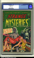 Golden Age (1938-1955):Horror, Strange Mysteries #1 (Superior Comics, 1951). CGC FN/VF 7.0 Creamto off-white pages. Classic horror. Overstreet 2002 FN 6.0...