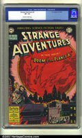 Golden Age (1938-1955):Science Fiction, Strange Adventures #2 (DC, 1950) CGC VF- 7.5 Off-white to whitepages. Virgil Finlay art. Overstreet 2002 VF 8.0 value = $94...