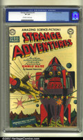 Golden Age (1938-1955):Science Fiction, Strange Adventures #3 (DC, 1950) CGC VF 8.0 Off-white to whitepages. Virgil Finlay and Dan Barry art. Overstreet 2002 VF 8....