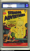 Golden Age (1938-1955):Horror, Strange Adventures #5 (DC, 1951) CGC VF/NM 9.0 Cream to off-whitepages. Overstreet 2002 VF 8.0 value = $544; NM 9.4 value =...