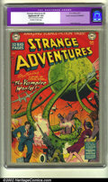 Golden Age (1938-1955):Science Fiction, Strange Adventures #6 Cosmic Aeroplane pedigree (DC, 1951) CGCApparent VF 8.0 (Trimmed) Off-white to white pages. Right and...