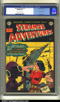 Golden Age (1938-1955):Science Fiction, Strange Adventures #7 (DC, 1951) CGC VF/NM 9.0 Cream to off-whitepages. Beautiful black cover book. Origin Kris KL-99. Virg...