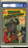 Golden Age (1938-1955):Science Fiction, Strange Adventures #8 (DC, 1951) CGC VF+ 8.5 Cream to off-whitepages. Early gorilla cover. Murphy Anderson, Gil Kane, and A...