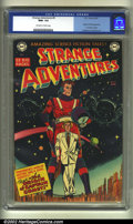 Golden Age (1938-1955):Science Fiction, Strange Adventures #9 (DC, 1951) CGC NM+ 9.6 Off-white to whitepages. Origin and first appearance of Captain Comet. Anderso...