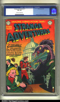 Golden Age (1938-1955):Science Fiction, Strange Adventures #11 (DC, 1951) CGC VF+ 8.5 Off-white to whitepages. Anderson, Infantino and Kane art. Overstreet 2002 VF...
