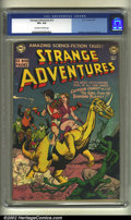 Golden Age (1938-1955):Science Fiction, Strange Adventures #12 (DC, 1951) CGC VF+ 8.5 Off-white to whitepages. Anderson, Kane and Toth art. Overstreet 2002 VF 8.0 ...