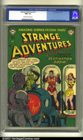 Golden Age (1938-1955):Science Fiction, Strange Adventures #14 (DC, 1951) CGC NM- 9.2 Off-white to whitepages. Anderson, Infantino and Kane art. Overstreet 2002 NM...
