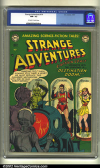 Strange Adventures #14 (DC, 1951) CGC NM- 9.2 Off-white to white pages. Anderson, Infantino and Kane art. Overstreet 200...
