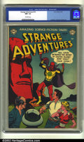 Golden Age (1938-1955):Science Fiction, Strange Adventures #16 (DC, 1952) CGC NM- 9.2 Off-white pages.Anderson, Infantino and Kane art. Overstreet 2002 NM 9.4 valu...