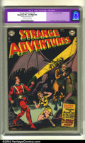 Golden Age (1938-1955):Science Fiction, Strange Adventures #18 (DC, 1952) CGC Apparent VF+ 8.5 Slight (A)Off-white to white pages. Restoration includes: tear seal ...