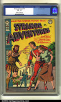 Golden Age (1938-1955):Science Fiction, Strange Adventures #19 (DC, 1952) CGC NM- 9.2 Off-white to whitepages. Anderson, Toth and Kane art. Overstreet 2002 NM 9.4 ...