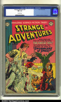 Golden Age (1938-1955):Science Fiction, Strange Adventures #20 (DC, 1952) CGC NM- 9.2 Off-white pages.Anderson, Infantino and Kane art. Overstreet 2002 NM 9.4 valu...