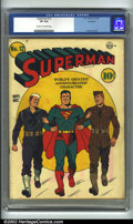 Golden Age (1938-1955):Superhero, Superman #12 Rockford pedigree (DC, 1941). CGC VF 8.0 Cream to off-white pages. Rockford copy. Fred Ray cover. Overstreet 20...