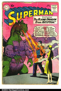 Superman (1st Series) #142 (DC, 1961). Condition: GD. Staples pulling