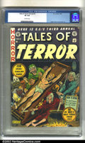 Golden Age (1938-1955):Horror, Tales of Terror Annual #3 (EC, 1953). CGC VF 8.0 Off-white pages.Overstreet 2002 VF 8.0 value = $1113....
