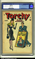 Golden Age (1938-1955):Miscellaneous, Torchy #1 (Quality, 1949) CGC FN/VF 7.0 Cream to off-white pages. Bill Ward cover and Gil Fox artwork. Overstreet 2002 FN 6....