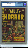 Golden Age (1938-1955):Horror, Vault of Horror #29 Gaines File pedigree 4/11 (EC, 1953). CGC NM+9.6 Off-white to white pages. Overstreet 2002 NM 9.4 value...