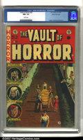 Golden Age (1938-1955):Horror, Vault of Horror #33 Gaines File pedigree 4/11 (EC, 1953). CGC NM+ 9.6 White pages. Overstreet 2002 NM 9.4 value = $335....