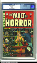 Golden Age (1938-1955):Horror, Vault of Horror #35 Gaines File pedigree 4/12 (EC, 1954). CGC NM+9.6 White pages. Overstreet 2002 NM 9.4 value = $335....