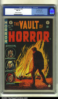 Golden Age (1938-1955):Horror, Vault of Horror #36 Gaines File pedigree 11/12 (EC, 1954) CGC NM9.4 Off-white to white pages. Classic opium addict story. O...