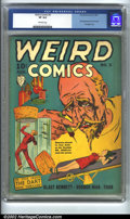 Golden Age (1938-1955):Horror, Weird Comics #5 (Fox, 1940). CGC VF 8.0 Off-white pages. Firstappearance of Dart and Ace. Bondage cover. Overstreet 2002 VF...