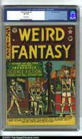 Golden Age (1938-1955):Science Fiction, Weird Fantasy #6 (EC, 1951). CGC VF 8.0 Off-white pages. Overstreet2002 VF 8.0 value = $266....