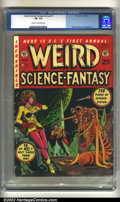 Golden Age (1938-1955):Science Fiction, Weird Science-Fantasy Annual #1 (EC, 1952). CGC FN- 5.5 Cream tooff-white pages. Overstreet 2002 FN 6.0 value = $615....