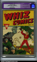 Golden Age (1938-1955):Superhero, Whiz Comics #2 (#3) (Fawcett, 1940). CGC Apparent NM 9.4 Slight (P) Off-white to white pages. Restoration includes: cover an...