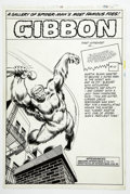 Original Comic Art:Splash Pages, Keith Pollard - Amazing Spider-Man Annual #13, Splash page 43Original Art (Marvel, 1979)....