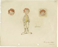 Animation Art:Production Drawing, F. H. Horvath - Character Concept Drawing Animation Art, Group of 3(Disney, circa 1935). ... (Total: 3 Items)
