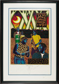 Music Memorabilia:Posters, New Orleans Jazz and Heritage Festival Francis X. Pavy SignedArtist's Proof Poster, 19/99 (1997). Artist Francis Xavier Pav...(Total: 1 Item)