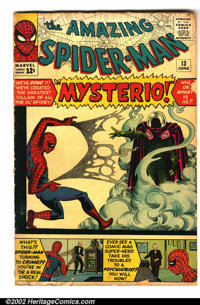 The Amazing Spider-Man #13 (Marvel, 1964). Condition: GD-. Brittle edges