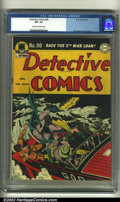 Golden Age (1938-1955):Superhero, Detective Comics #90 (DC, 1944) CGC FN- 5.5 Off-white to white pages. Dick Sprang cover and art. Overstreet 2002 FN 6.0 valu...