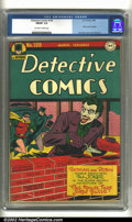 Golden Age (1938-1955):Superhero, Detective Comics #109 (DC, 1946) CGC FN/VF 7.0 Off-white to white pages. Joker cover and story. Joe Simon and Jack Kirby art...